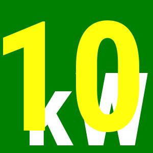 10 kW-os csomagok